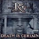 "royce da 5'9"" - death is certain CD 2004 koch 15 tracks used like new"
