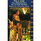 fela live - fela anikulapo-kuti and the egypt 8- band recorded live at glastonbury england DVD new