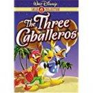three caballeros DVD 2000 walt disney 72 minutes used like new