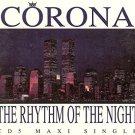 corona - rhythm of the night CD maxi single 5 tracks 1994 eastwest used like new