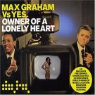 max graham vs yes - owner of a lonely heart CD 2005 data records UK 5 tracks + video used like new