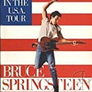 bruce springsteen and the e street band - born in the u.s.a. tour Paperback 1984 used