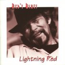 red's blues - lightning red CD 1992 heroic 11 tracks used like new