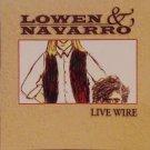 lowen & navarro - live wire CD 1996 intersound 11 tracks used like new
