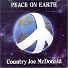country joe mcdonald - peace on earth CD 1984 one way rag baby 12 tracks used like new