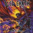 iced earth - dark saga CD 1996 century media 10 tracks used like new