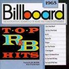 billboard top R&B hits 1965 - various artists CD 1989 rhino 10 tracks used like new