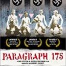 paragraph 175 - a rob epstein & jeffrey friedman film DVD 2002 new yorker video 81 mins like new