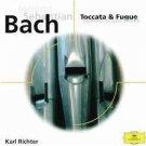 johann sebastian bach - toccata & fugue - karl richter CD deutsche grammophon used like new