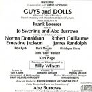 guys and dolls - original cast directed by billy wilson CD 1976 motown 19 tracks used like new