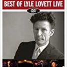 lyle lovett - best of lyle lovett live DVD 2007 curb 15 tracks used like new