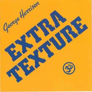 george harrison - extra texture CD 1991 EMI capitol apple 10 tracks used like new