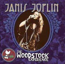 janis joplin - woodstock experience: limited edition w/ poster No. 13461 2CDs 2009 sony like new