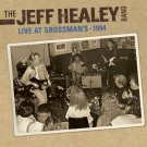 jeff healey band - live at grossman's 1994 CD 2011 convexe eagle rock north 9 tracks used like new