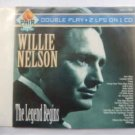 willie nelson - the legend begins / double play CD 1994 pair 20 tracks used like new