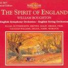 william boughton - spirit of england CD 4-discs 1989 nimbus used like new