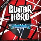 playstation 2 - guitar hero: van halen Activision 2009 Teen used near mint