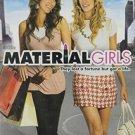 material girls - hilary duff + haylie duff + anjelica huston DVD 2006 MGM PG used like new