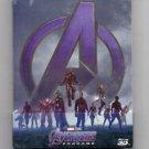 avengers: endgame - steelbook edition BluRay + 4K ultrahead + bonus disc 2019 marvel used like new