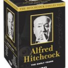 alfred hitchcock: the early years DVD 8-discs 12 movies 2002 delta used