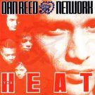 dan reed network - the heat CD 1991 mercury 15 tracks used like new