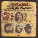 wanted! the outlaws - waylon jennings, willie nelson, jessi colter, tompall glaser CD 1996 RCA