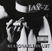 jay-z - reasonable doubt CD 1999 priority roc-a-fella freeze 14 tracks used near mint