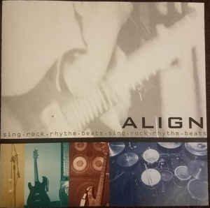 align - sing rock rhythm beats CD single maxi 6 tracks 1999 sun sea sky used like new