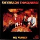 fabulous thunderbirds - hot number CD 1987 CBS 10 tracks used like new ZK 40818