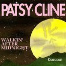 patsy cline - walkin' after midnight CD 1989 compose 9 tracks used like new