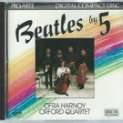 ofra harnoy orford quartet - beatles by 5 CD 1986 fanfare 1987 intersound 11 tracks like new