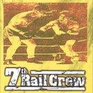 7th rail crew - static CD 1998 capo records 8 tracks used like new