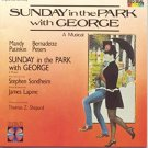 sunday in the park with george: a musical - mandy patinkin + bernadette peters CD 1984 RCA new