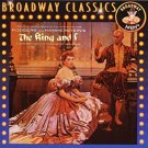 rodgers and hammerstein's the king and I CD 1993 angel BMG Direct 13 tracks new
