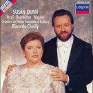 susan dunn - verdi beethoven wagner - orch del teatro comunale di bologna / riccardo chailly CD 1989