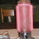 Antique Pink Tower Lamp