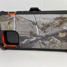 For Iphone 12 Pro max Orange camouflage Belt clip case