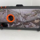 For iPhone XS Max orange tree camouflage belt clip case. free shipping!