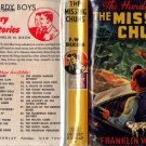 F W Dixon Hardy Boys # 4 The Missing Chums HB/DJ
