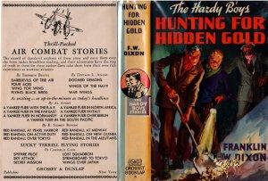 F W Dixon Hardy Boys # 5 Hunting for Hidden Gold HB/DJ