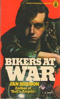 Jan Hudson BIKERS AT WAR 1976 PB Original VG