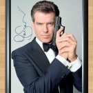"Pierce Brosnan James Bond 007 GoldenEye Signed Autographed Photo Print Poster mo147 A3 11.7x16.5"""""