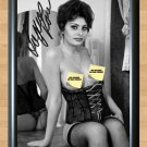 Sophia Loren Italian Lingerie Busty Nude Signed Autographed Photo Print Poster mo236 A3 11.7x16.5""""