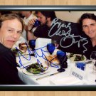 "Heath Ledger Christian Bale Batman Joker Signed Autographed Photo Poster mo948 A3 11.7x16.5"""""