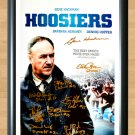 "Gene Hackman Coach Dale Hoosiers Signed Autographed Photo Poster Memorabilia mo1035 A2 16.5x23.4"""
