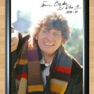 """Tom Baker Dr Who 4th Signed Autographed Photo Poster 3 tv959 A4 8.3x11.7"""""""""""