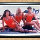 Baywatch Pamela Anderson Yasmine Bleeth Alexandra Paul Signed Autographed Photo Poster tv525 A3 11.7