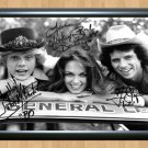 """The Dukes of Hazzard Signed Autographed Photo Poster tv549 A3 11.7x16.5"""""""""""