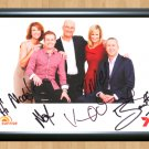 """Sunrise team Channel 7 Cast AU TV Signed Autographed Photo Poster Memorabilia tv435 A2 16.5x23.4"""""""