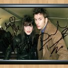 """Matt Smith Michelle Ryan Dr Who Signed Autographed Photo Poster tv589 A2 16.5x23.4"""""""
